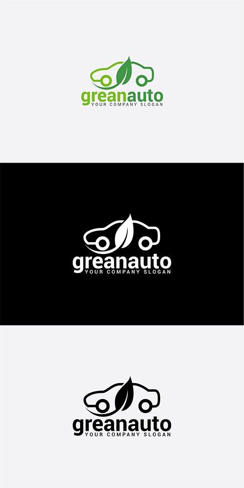 Greanauto Vector and PSD Logo