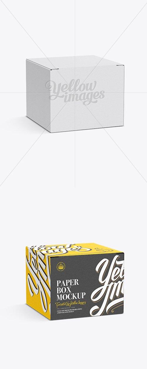 50ml Box Mockup Half-Side View 11549 TIF