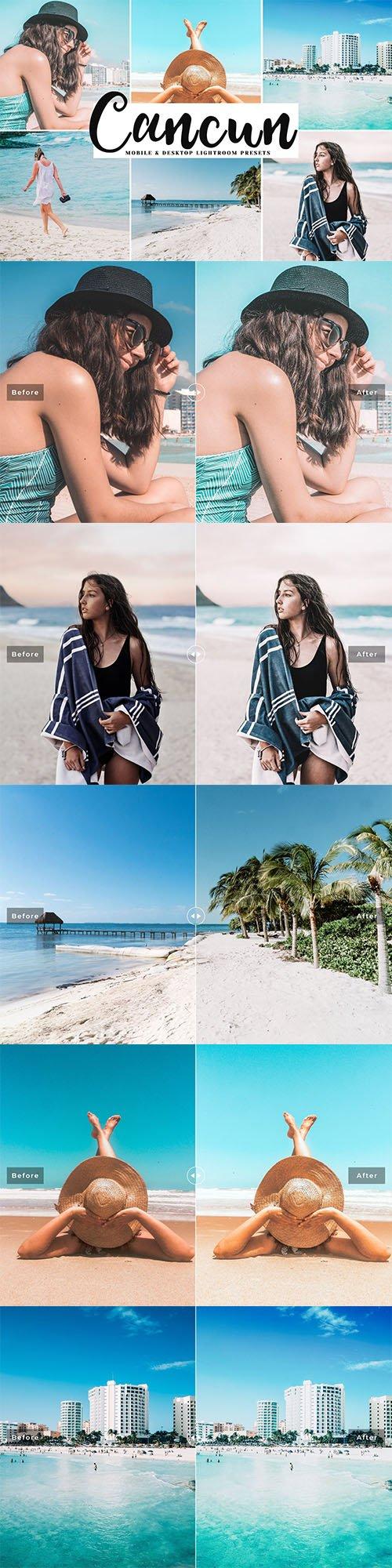 Cancun Mobile and Desktop Lightroom Presets