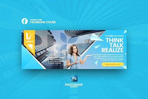 Udemi - Business Facebook Cover Template