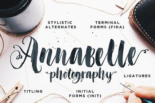 Don't Click Me wedding script font