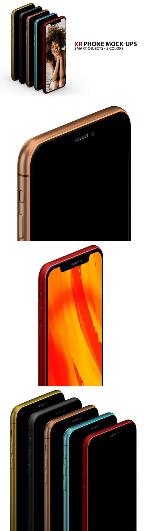 XR Phone Mock-ups with Smart Objects