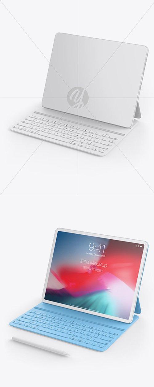 Clay Apple iPad Pro 2018 12.9 Mockup 42788 TIF