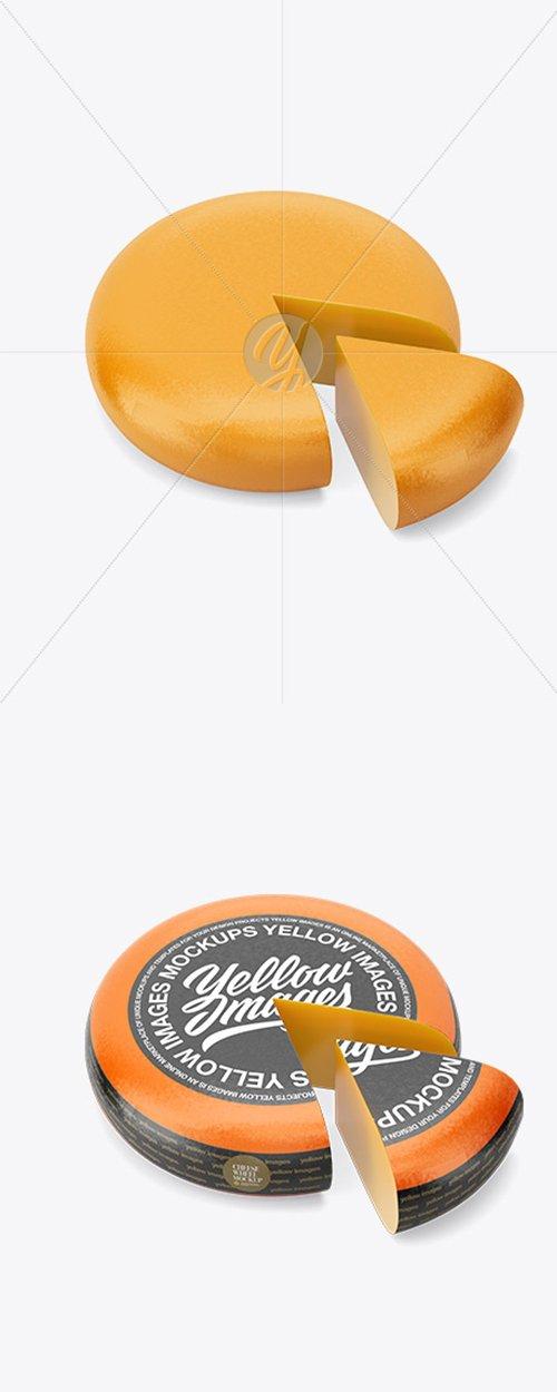Cheese Wheel Mockup 43118 TIF