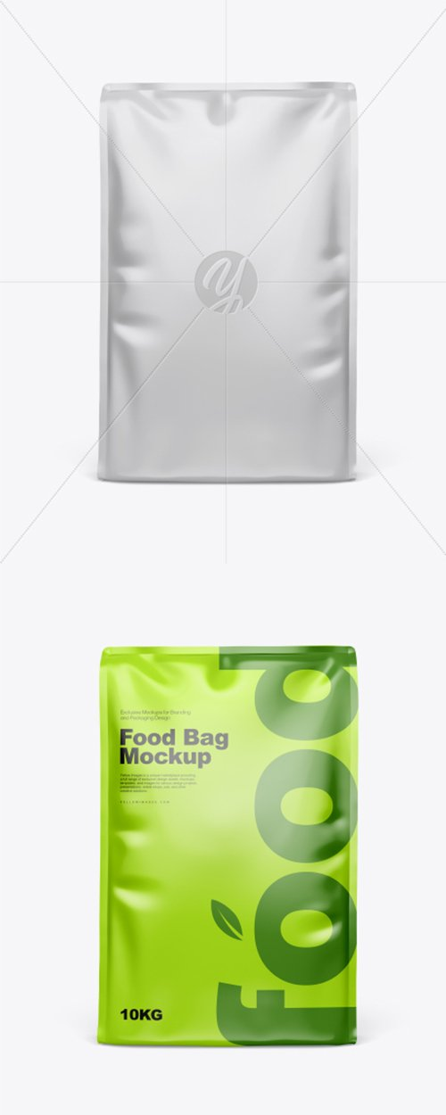 Glossy Food Bag Mockup 41697 TIF