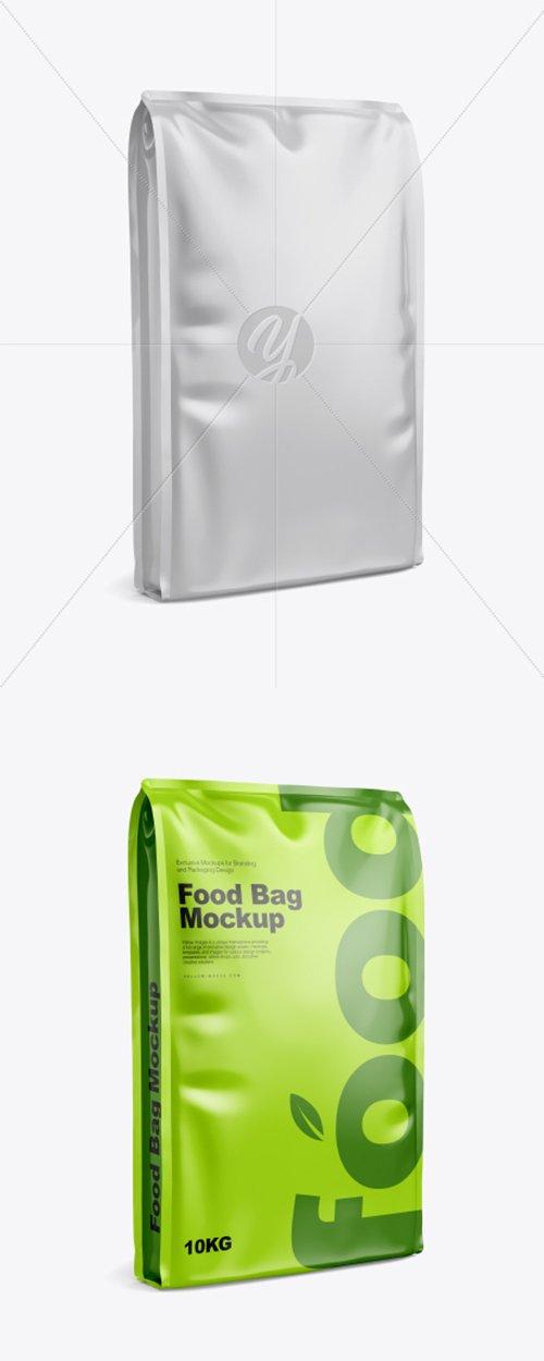 Glossy Food Bag Mockup 41705 TIF