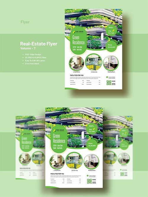 Real-Estate Flyer Template V-7