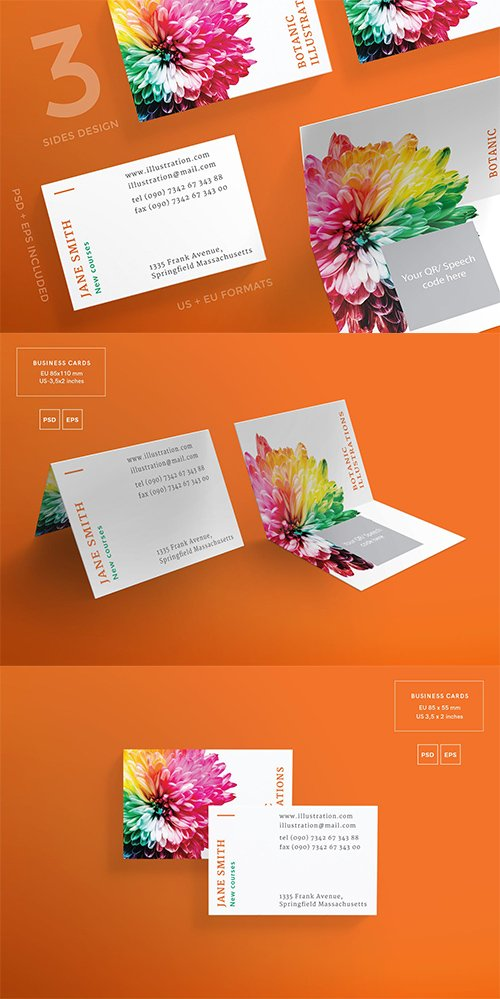 Illustration Lessons Business Card Template