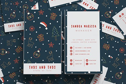 Toys And Toys Business Card