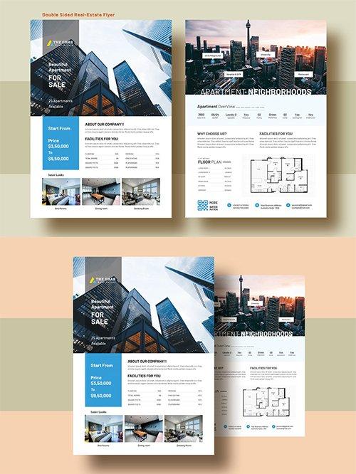 Double Side Real Estate (Apartment Sale) Flyer v11