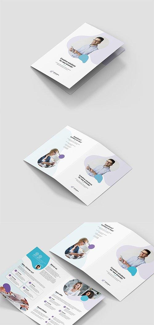 PSD Brochure – StartUp Agency Bi-Fold