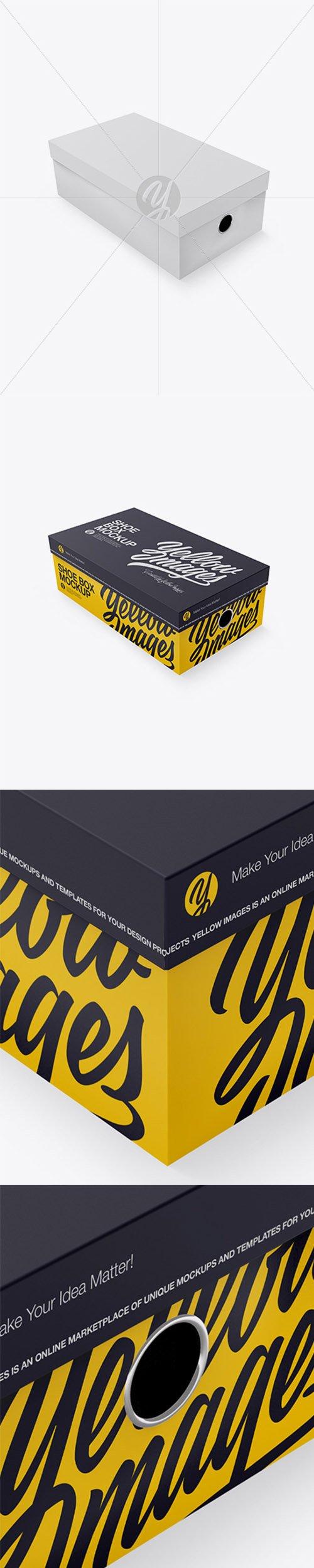 Shoes Box Mockup - Half Side View (High Angle) 19901 TIF