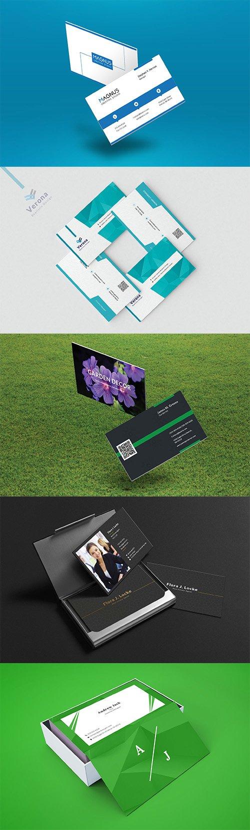 Professional Corporate Business Card Set Vol2