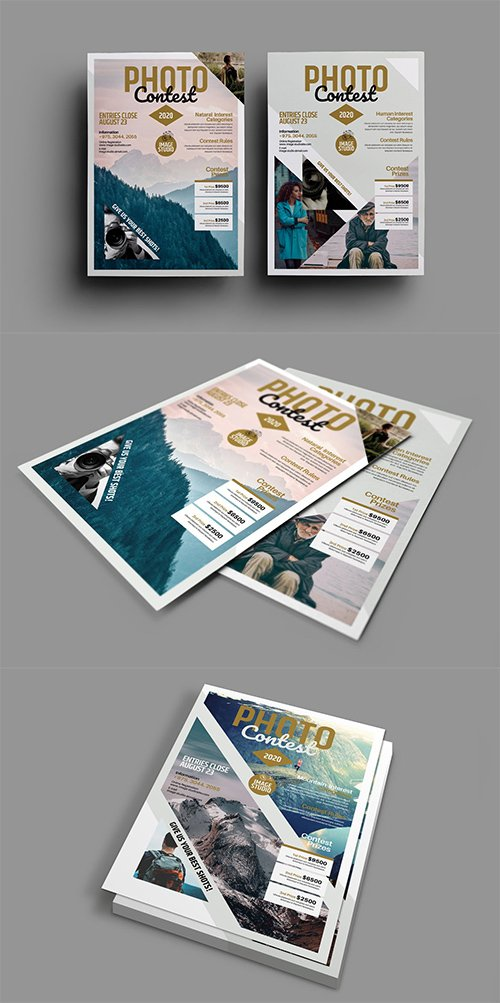 Photography Contest PSD Flyers