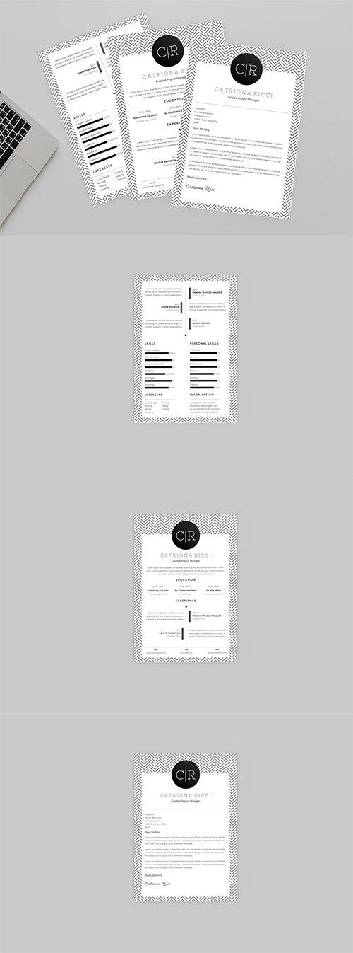 Carry Resume Indesign Designer