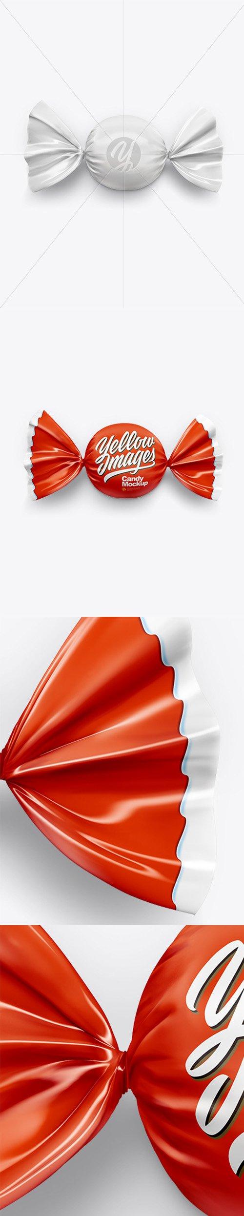 Candy Mockup - Top View 43968 TIF