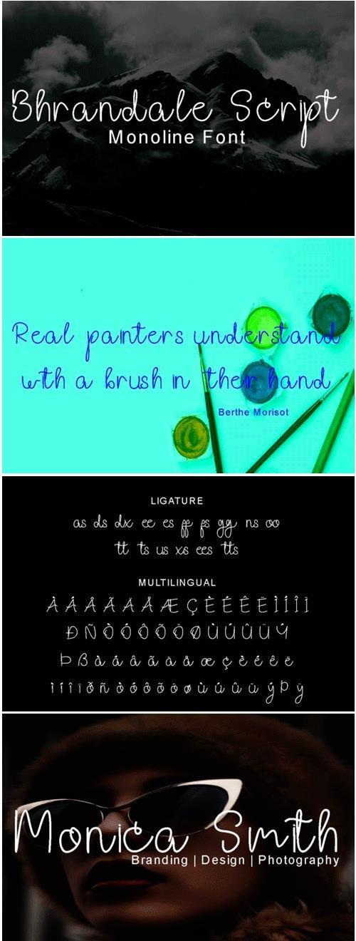 Bhrandale Script Font