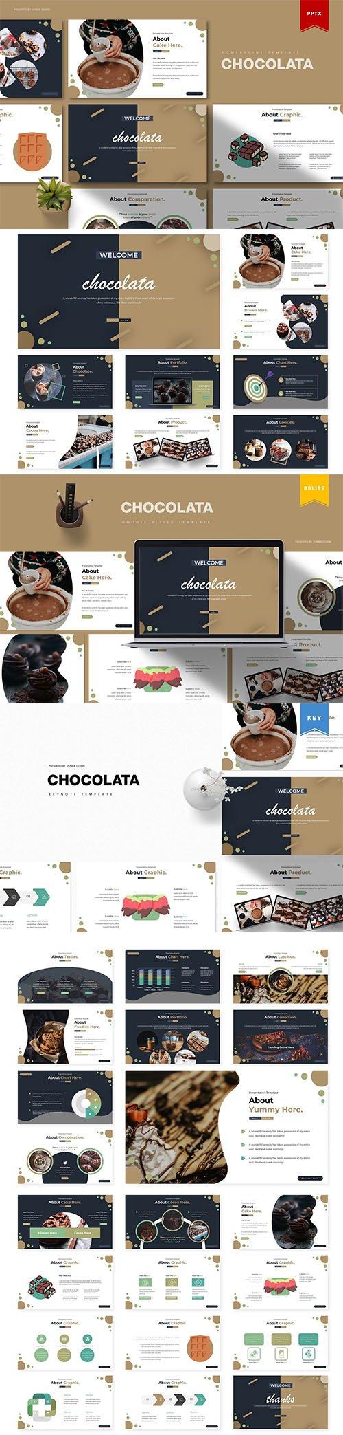 Chocolata - Powerpoint, Keynote and Google Slides Templates