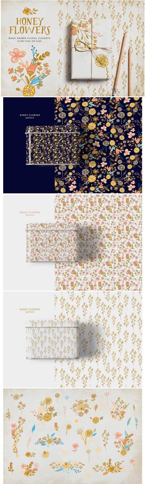 Honey Flowers 1562054
