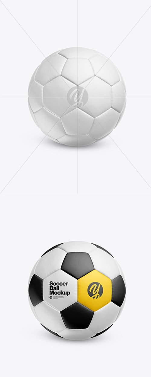 Soccer Ball Mockup 44602 TIF