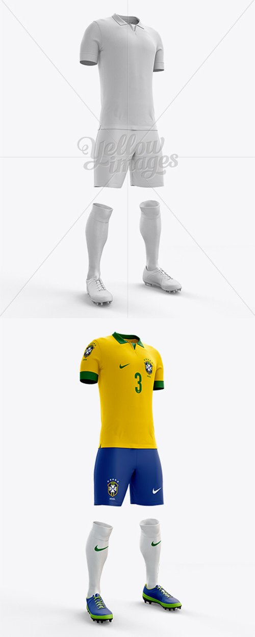 Full Soccer Kit Halfside View 10441 TIF