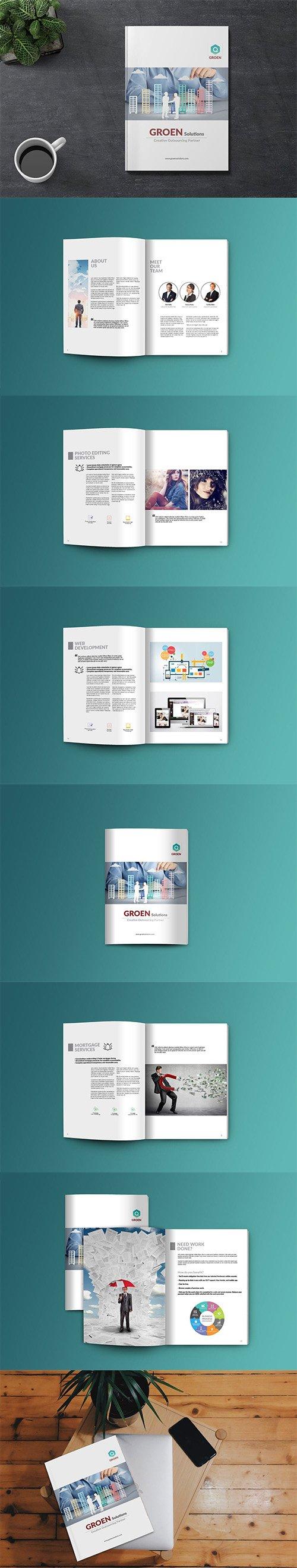 Corporate Indesign Brochure/Megazine