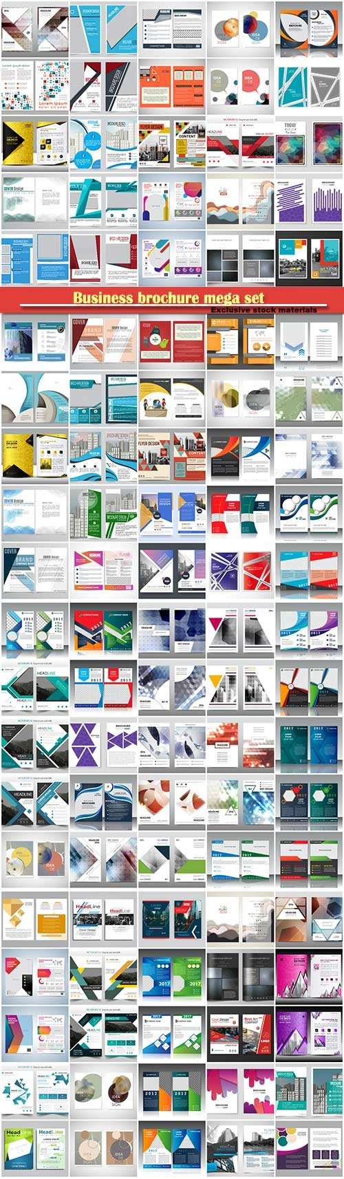 Business brochure mega set # 3