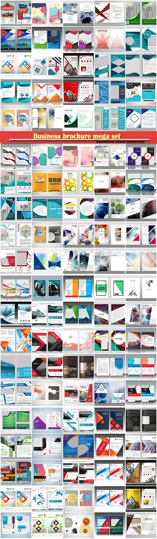 Business brochure mega set # 4