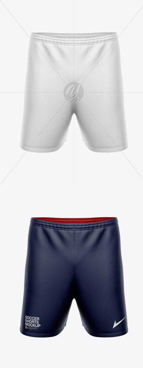 Mens Soccer Shorts Mockup 45588 TIF