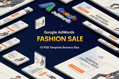 Fashion Sale Banners Ad PSD