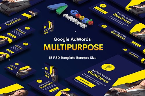 Multipurpose, Business, Startup PSD Banners Ad