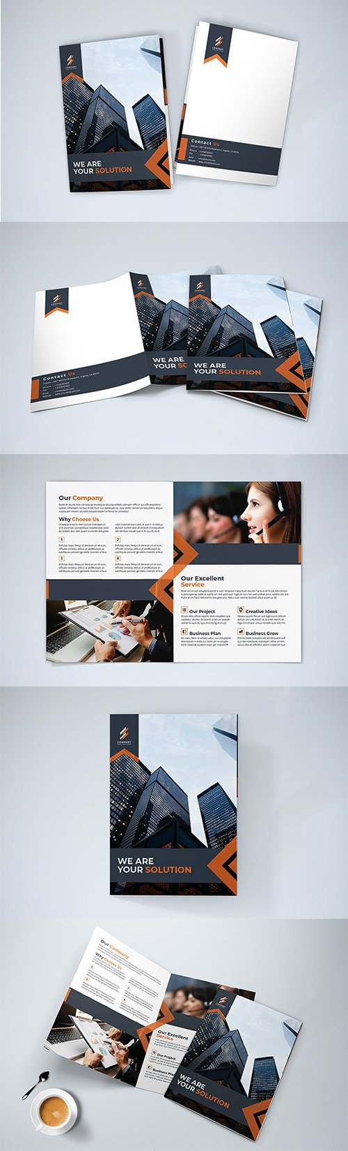 Bifold Indesign Brochure