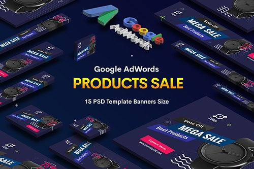 Product Sale PSD Banners Ad