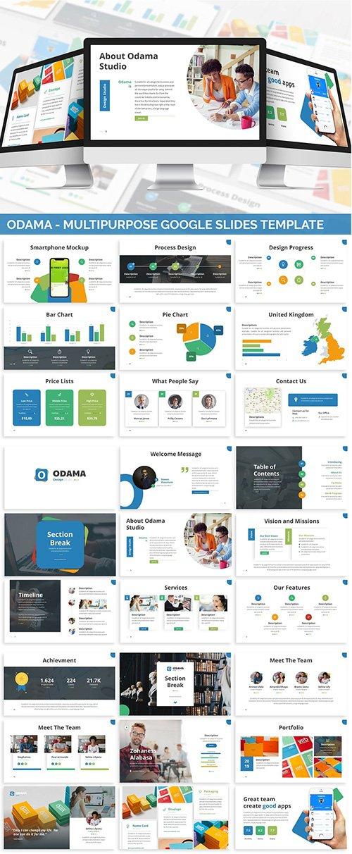 Odama - Multipurpose Google Slides PPTX Template