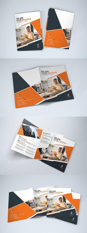 Bifold Indesign Brochure