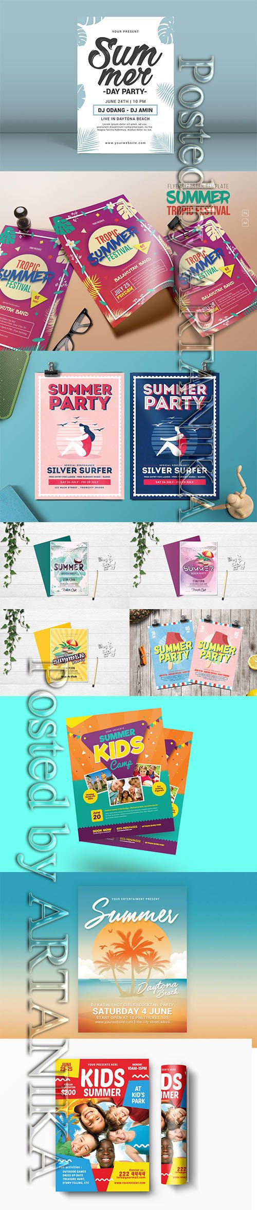 Summer Flyer Bundle Vol2 2019