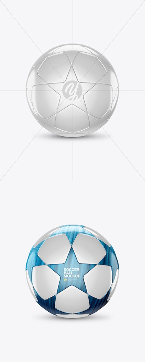 Glossy Soccer Ball Mockup 26685 TIF
