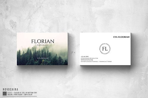 Florian Photography Business Card