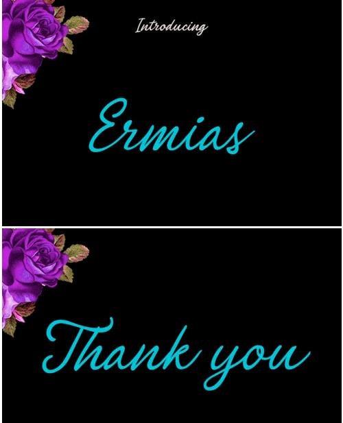 Ermias Script Font