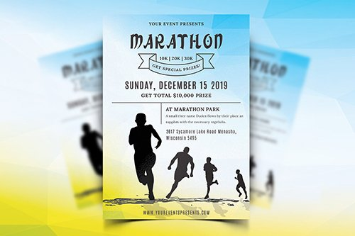 Marathon Event PSD Flyer-09