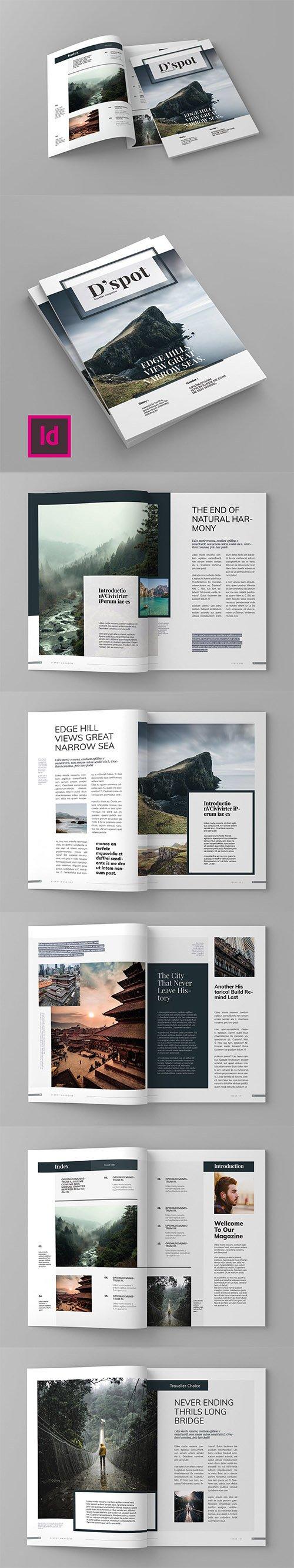 D'spot - Magazine Template