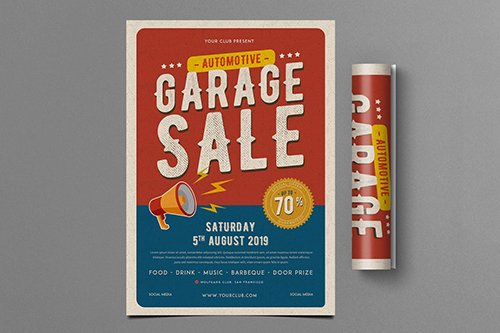 Retro Automotive Garage Sale