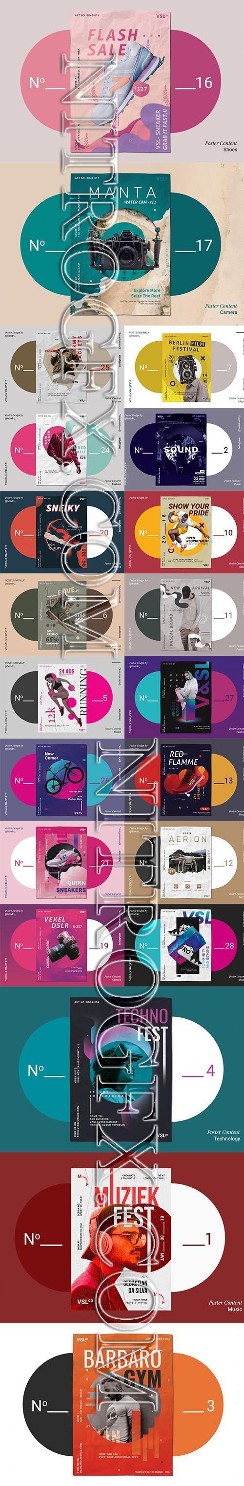 Big Modern Poster Mix Pack