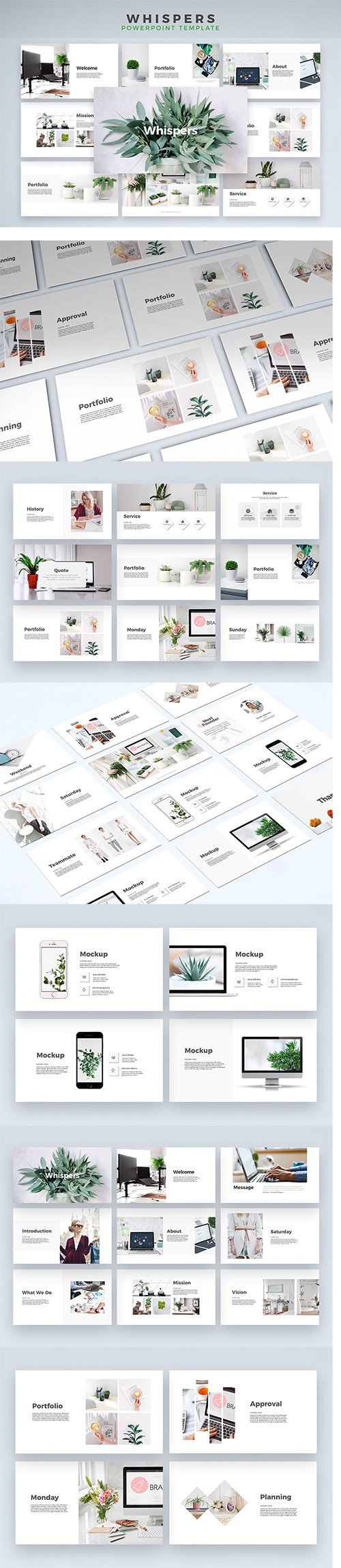 Whispers - Powerpoint Template