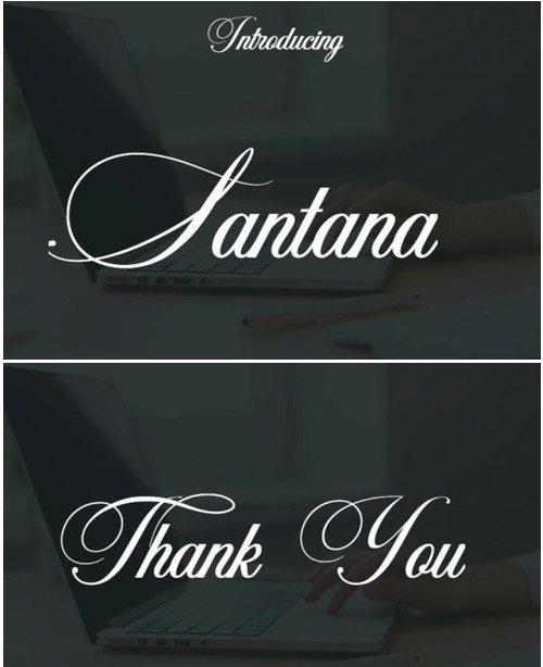 Santana Font
