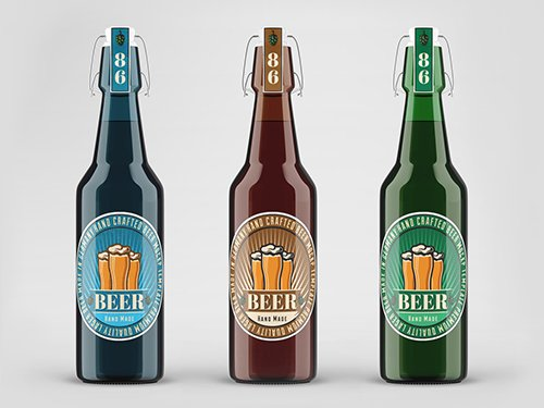 Beer Bottle Mockup 256531418 PSDT
