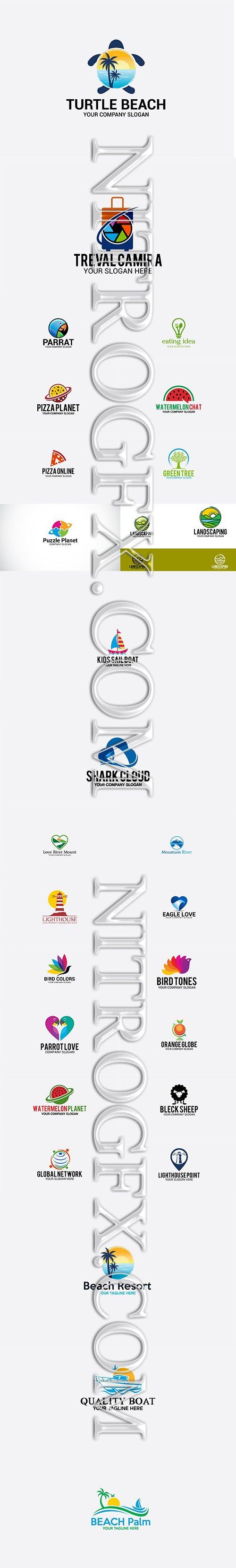 Big Summer Logo Bundle 2019 Vol.3
