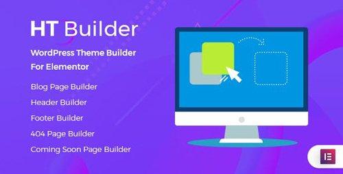 CodeCanyon - HT Builder Pro v1.0.0 - WordPress Theme Builder for Elementor - 24134825