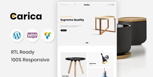 ThemeForest - Carica v1.2 - Furniture Handmade WooCommerce Theme - 23599767