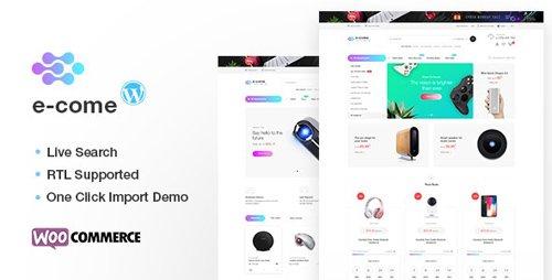 ThemeForest - Ecome v1.5.1 - Electronics Store WooCommerce Theme - 21631804